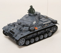 Panzer III Kampfwagen Ausf.L RC Tanque RTR w / Airsoft y Tx