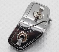El conmutador (Derecho) - Transmisor 9XR Turnigy