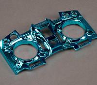 Turnigy 9XR transmisor frontal personalizado - Azul Metálico