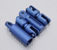 Transmisor de la correa del cuello adaptador (azul)