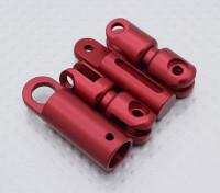 Transmisor de la correa del cuello adaptador (rojo)