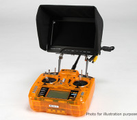 Carbón universal FPV monitor Para Transmisor de montaje Sistema