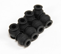 Bolas de amortiguación de vibraciones (100 g = Negro) (8 PCS)
