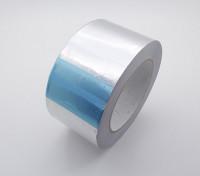 De aluminio auto-adhesivo de cinta de la hoja de 60 mm x 38 m x 0,06 mm
