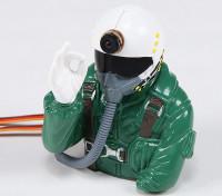 El Dr. MadThrust construido en HD Cam piloto de jet (H93 x W75 x D90mm)
