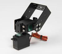 Kit de servicio de Pan y Tilt Base pesada con 160deg servos robótica integridad o la antena de seguimiento (brazo largo)