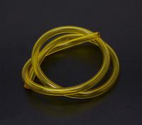 Cox 0,049 a 0,051 Borrar la línea de combustible diesel amarillo (30 cm)