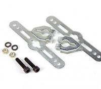 Sullivan 1/4 pulgadas de las bragas de la rueda ajustable soportes de montaje (1 juego)