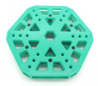 RotorBits HexCopter Centro de montaje (verde)