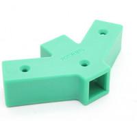 RotorBits 60 grados Y conector de 2 caras (verde)