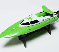360mm serpiente 2 Mini V-casco del barco que compite - Verde (RTR)