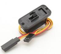 JR del cableado del interruptor con construido en el zócalo de carga