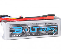 Perno Turnigy 3450mAh 15.2V 4S 65 ~ 130C alto voltaje Lipo Pack (LiHV)