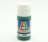 Italeri pintura acrílica - Brillo verde