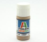 Italeri pintura acrílica - Piso bronceado oscuro