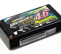 Turnigy nano-tech último 4600mAh 2S2P 90C Lipo Estuche corto Pack (ROAR y BRCA Aprobados)