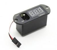 Turnigy Potencia min Distribuidor conmutación de pantalla Voltaje