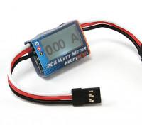 HobbyKing ™ compacto 20A Watt Meter y servo analizador de potencia