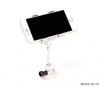 Transmisor teléfono inteligente soporte de montaje (blanco)