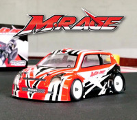 BSR Racing M.RAGE 1/10 4WD M-Chasis (Kit Montado-Un)