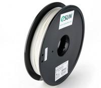 Impresora 3D ESUN Filamento Blanco 1,75 mm 0,5 kg PLA Carrete