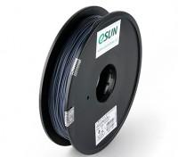 Impresora 3D ESUN 1.75mm Filamentos gris PLA 0,5 kg Carrete