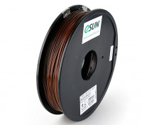 Impresora 3D ESUN Filamento de Brown 1,75 mm 0,5 kg ABS Carrete
