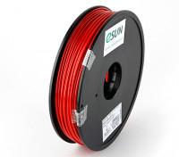 ESUN 3D Filamento impresora Rojo 3mm ABS 0,5 kg Carrete