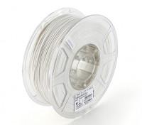 Impresora 3D ESUN Filamento blanco 1.75mm PLA 1kg rollo