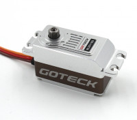 Goteck BL2511S Brushless digital MG metal Entubado de coches Servo 12 kg / 0.09sec / 62g