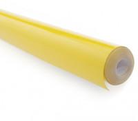 Cubrir sólido película de mitad de Amarillo (5mtr) 104