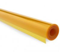 Cubriendo película transparente naranja quemada (5mtr) 202