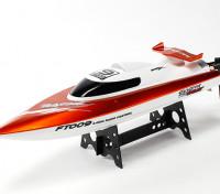 460mm FT009 alta velocidad V-casco del barco que compite - naranja (RTR)