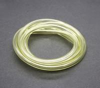 tubería de combustible de silicona (1 metro) 6x3mm amarillo (Nitro Motores y Gas)