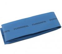 Turnigy del encogimiento del calor del tubo de 50mm x 1mtr (azul)