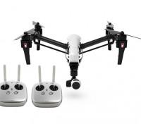 DJI T600 Inspire 1 Quadcopter w / cámara 4K, 3 ejes cardán y dual Transmisores