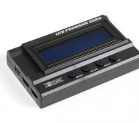 serie Bestia HobbyKing® ™ X-Car Tarjeta de programa del LCD