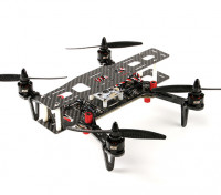 DYS 250 fibra de carbono total Drone plegable con el caso de almacenamiento (PNF)