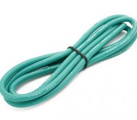 Turnigy alta calidad de silicona 12AWG Wire 1m (verde)