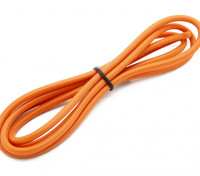 Turnigy alta calidad de silicona de alambre de 14 AWG 1m (naranja)