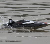 Barco FT012 sin escobillas V-casco que compite con la característica autoadrizables (enchufe de EE.UU.)