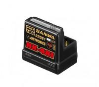 Sanwa RX-481 de 2,4 GHz FH3 / FH4T Súper Respuesta receptor de 4 canales con antena incorporada