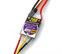 Raza Afro regulador de la velocidad mini 20Amp Multi-Rotor Spec con BEC