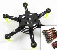 Spedix S250H Racing Drone Kit de E / ESC Combo AP