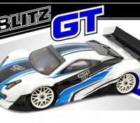 Shell BLITZ 1/8 GT E / P Cuerpo de Luz con el ala (1.0 mm)
