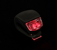 Silicio negro mini-lámpara (LED rojo)