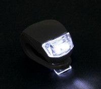 Silicio negro mini-lámpara (LED blanco)