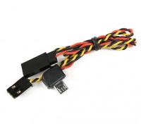 Turnigy leva de la acción de A / V cable de potencia para FPV cable Y