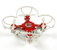 FQ777-124 bolsillo Drone 4CH Gyro 6Axis Quadcopter Con conmutable Controller (RTF) (Rojo)