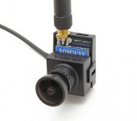 Cámara AOMWAY 700TVL CMOS HD (Pal Version) más 5.8G transmisor de 200MW